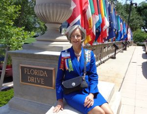 Caroline Maney, Regent 123rd Continental Congress 2014